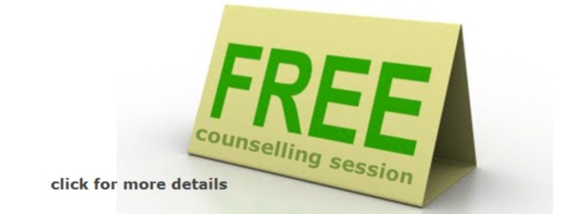 free counselling session w1